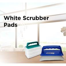 White Scrubber Pads
