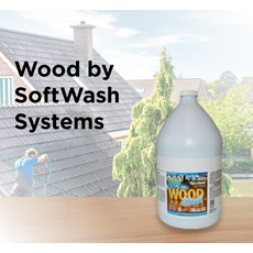 Wood by SoftWash Systems