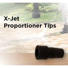 X-Jet Proportioner Tips